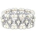 Jon Richard Crystal Pearl Bracelet