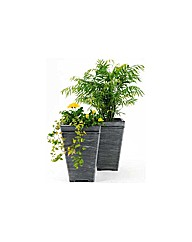 Terraneuva Tall Square Planter