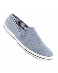 Mens Spirit Faro Slip On Canvas
