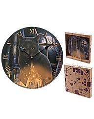 Lisa Parker Cat Design Wall Clock