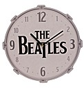Licensed Beatles Drum Design Wall Clock