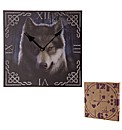Celtic Knotwork Wolf Wall Clock