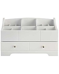Eight Compartment & Drawer Jewellery Box