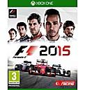 F1 2015 Formula 1 Xbox One