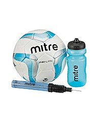 Mitre Junior Football Training Pack.