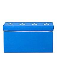 Upholstered Toy Box - Stars.