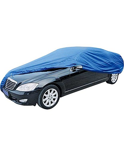 Blue Full Car Cover - Small.