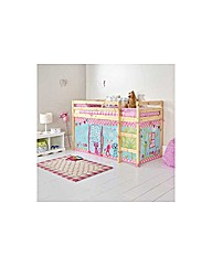 Creature Friends Tent for Bed Frame.