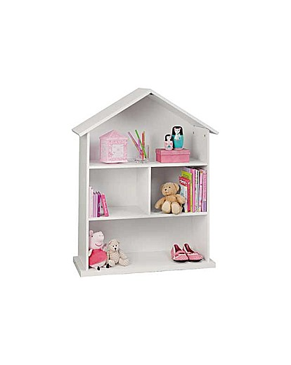 Image of Mia Dolls House Bookcase - White