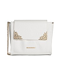 Love Juno white shoulder bag