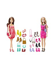 Barbie Dolls Shoes and Bag Accessory Set