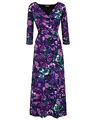 Grace Made in Britain floral maxi dress