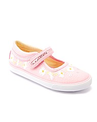 Start-rite Daisy Chain Pink Sparkle Canv