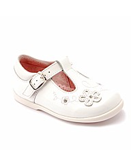 Start-rite Sunflower White Patent Fit G