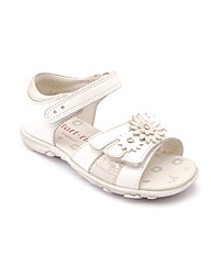 Start-rite Clover White/Silver Leather F