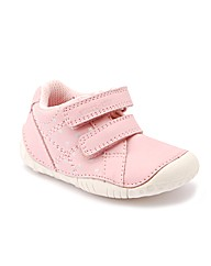 Start-rite Baby Milan Pale Pink Leather
