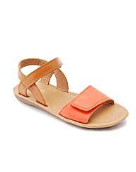 Start-rite Vanda Tan/Coral Leather Fit F