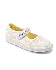Start-rite Daisy Chain White Sparkle Can