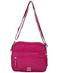 Artsac Single Strap Zipped Front Pocket