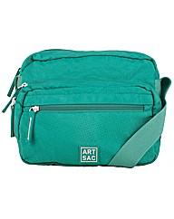 Artsac Single Strap Zipped Front Pocket