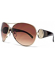 Guess G Temple Aviator Sunglasses