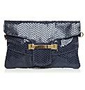 Moda in Pelle Zoeyclutch Handbags