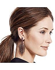Mood Aurora Borealis Chandelier Earring