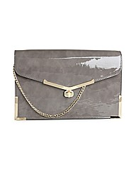 Juno Grey Clutch Bag