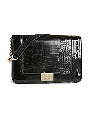 Juno Croc Shoulder Bag