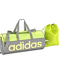 Adidas Linea Medium Holdall and Gymsack