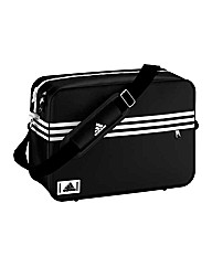 Adidas Enamel Messenger Bag - Black.