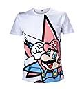 Super Mario Bros Mario Star T-Shirt