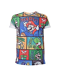 Super Mario Bros All over Print T-Shirt
