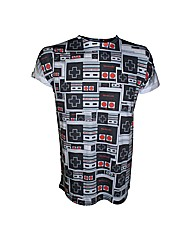 Nintendo NES Games Controllers T-Shirt