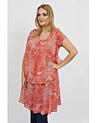Koko Abstract Print Dress