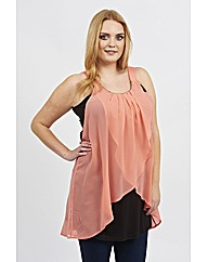 Koko Bead Neck Wrap Top