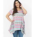 Koko Aztec Print Tunic