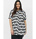 Koko Abstract Print Shirt