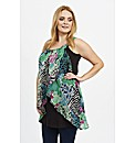 Koko Abstract Print Top