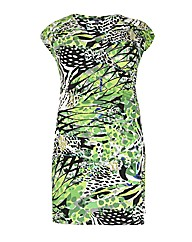 Samya Abstract Print Dress