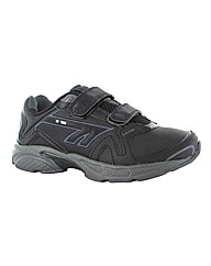 Hi-Tec R156 Leather Velcro Trainer
