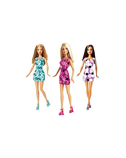 Image of Barbie Triple Doll Pack