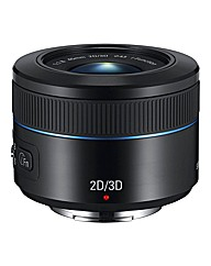 Samsung 45mm 2D/3D f/1.8 iFunction Black