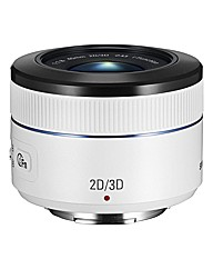 Samsung 45mm 2D/3D f/1.8 iFunction White