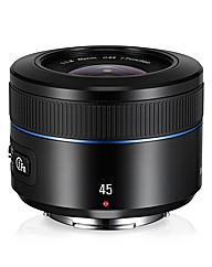 Samsung 45mm f/1.8 i-Function Lens Black