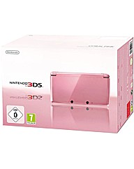 Nintendo 3ds Coral Pink Console