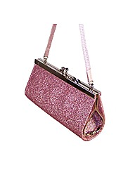 Sparkle Club Pink Clip Top Girls Bag