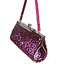 Sparkle Club Fuschia Clip Top Girls Bag