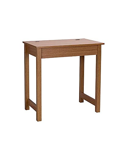 Product photo of Denbigh office desk oak effect