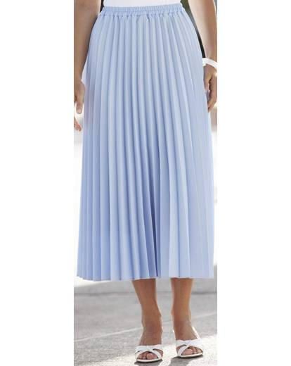 sunray pleated skirt length 27in premier
